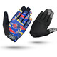 GripGrab Rebel Long Cycling Gloves Blue Camo